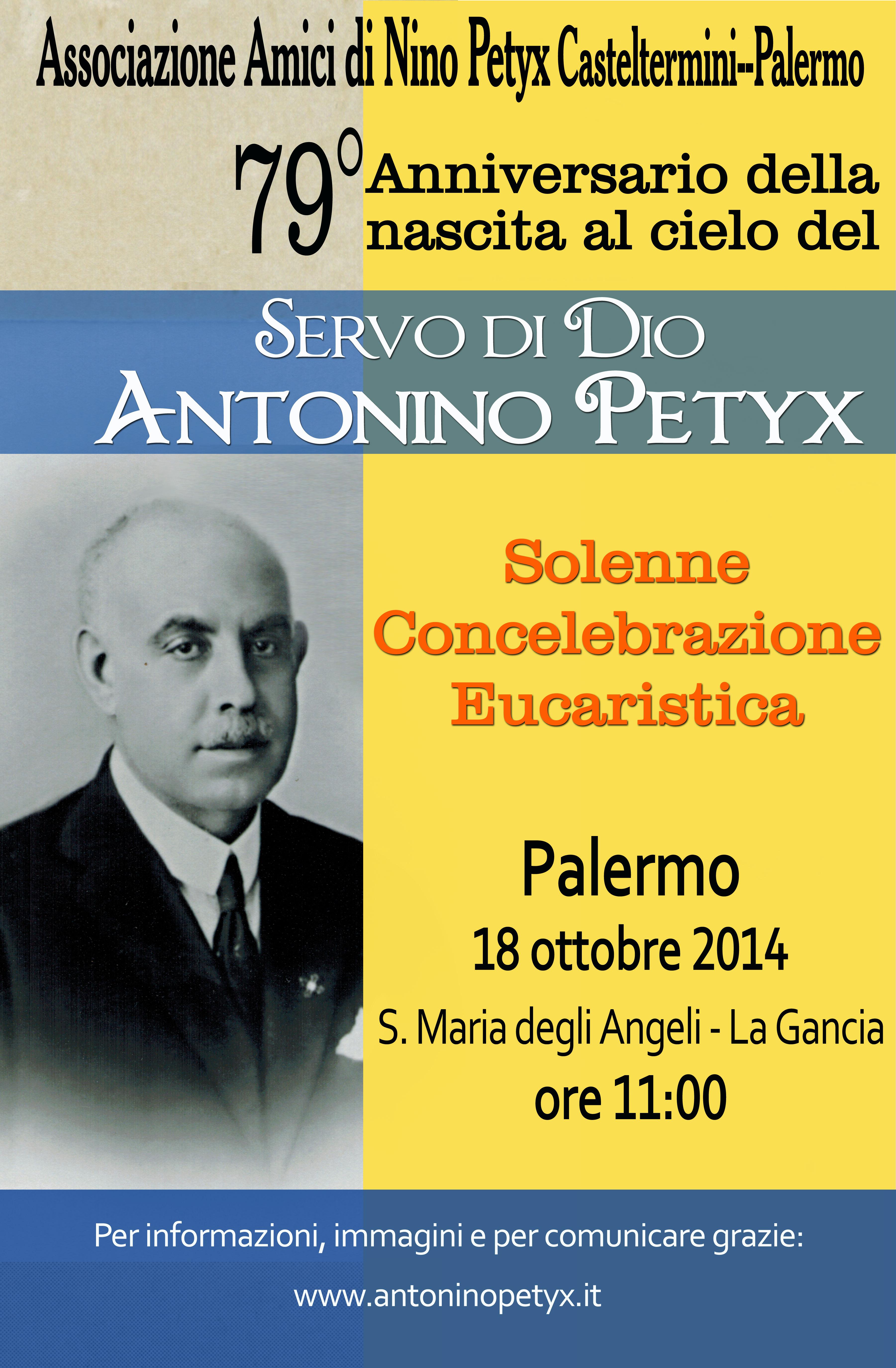 Palermo - 18 ottobre 2014 ore 11:00 - Chiesa della Gancia
