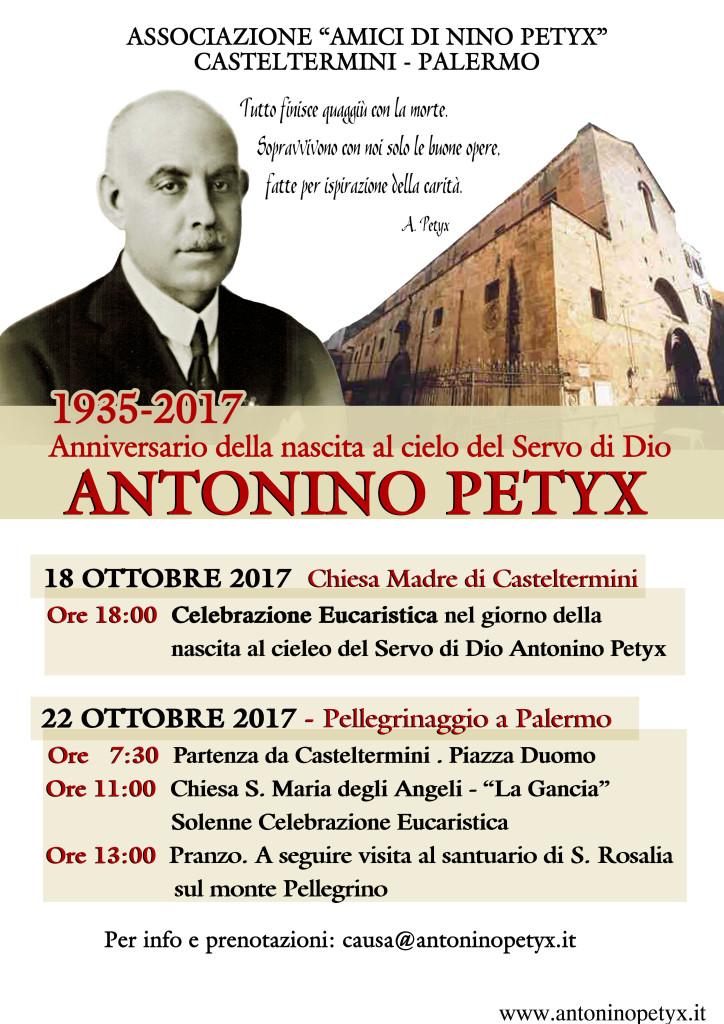 82° anniversario della morte Antonino Petyx
